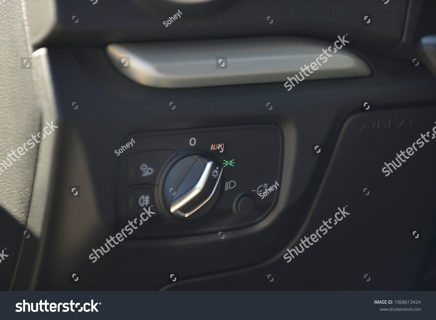 Car Light Switch Panel